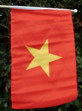 HAND WAVING FLAG - VIETNAM